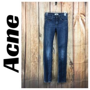 ☮️ACNE Hex Pure Skinny Jean in size 24